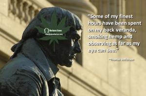 Thomas Jefferson Quote Smoking on Veranda 600x400