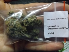 Marijuana Strain Review of Sweet Afghani