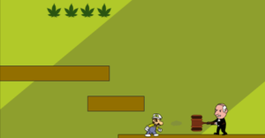 Stoned Mario Image