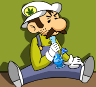 Stoned Mario Marijuana Game Feature Image 192x175