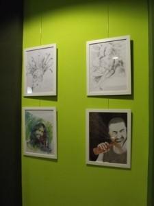 Cool wall art at Sweet Dreams no 2