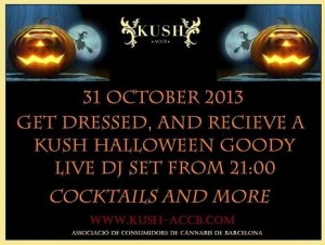 Kush Halloween Celebration in Barcelona