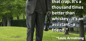 Loius Armstrong Marijuana Quote