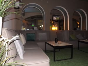 Lounge area at Sweet Dreams BCN