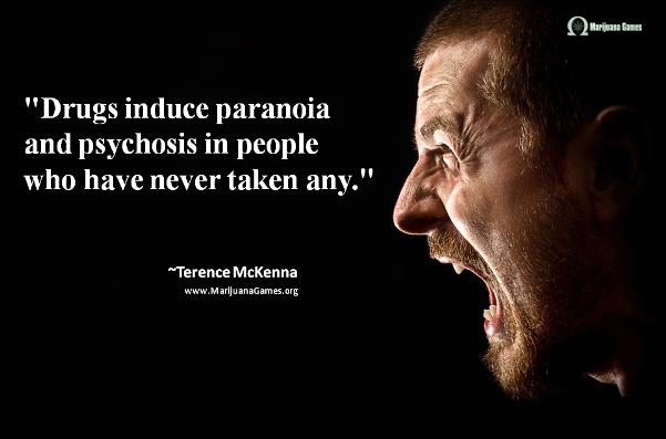 Marijuana Quote by Terence McKenna #2 600x400