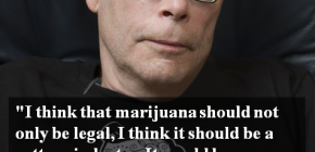 Stephen King Quote about Marijuana