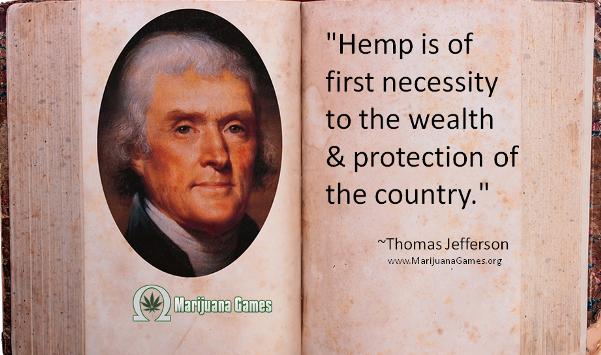 Thomas Jefferson Marijuana Quote #2 600x355