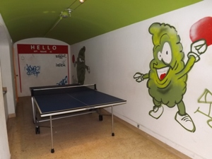 Ping Pong Room at Smoke Green