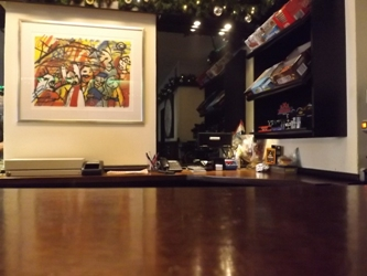 View of the Bar and Snacks at COffeeshop Solo