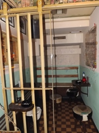 jail cell 2 at Bulldog Leidsplein