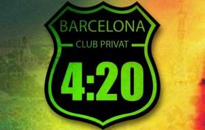 420 club in Barcelona logo