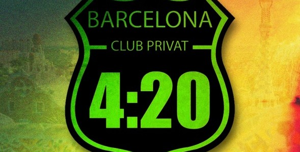 420 club in Barcelona logo
