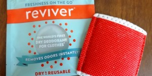 Feature image for Reviver Clothing Deodorant Wipes