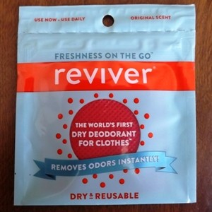 Reviver Wipes review - front of package