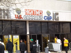 The Entrance to the 2014 High Times Cannabis Cup