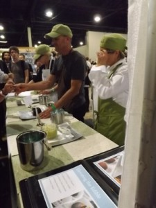 Edibles stand at the Cannabis Cup in 2014