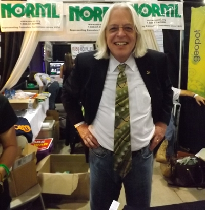 Keith Stroup from NORML at the High Times Cannabis Cup