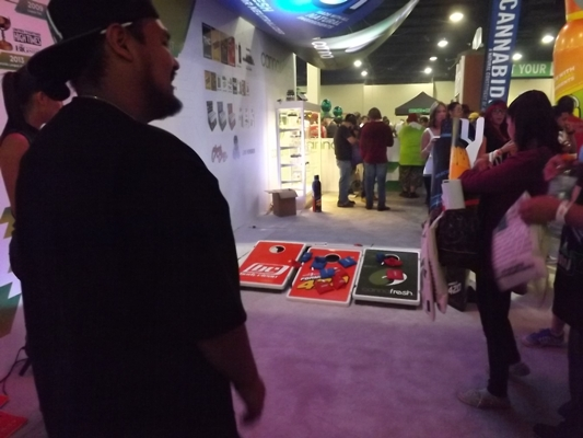 Games at the High Times Cannabis Cup