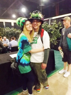 Hippie Stoners at the High Times Cannabis Cup