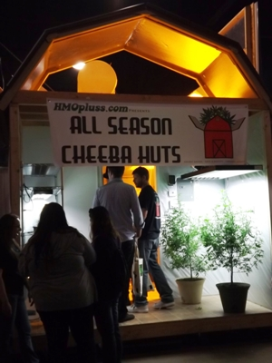 Cheeba Hut at the Cannabis Cup