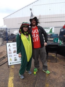 Dragon and Wizard at the High Times Cannabis Cup in Denver