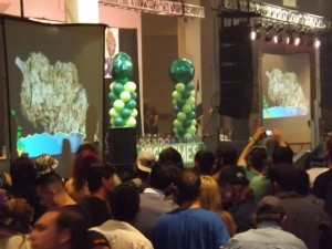 Cannabis Cup awards on Sunday at the High Times Cannabis Cup