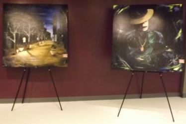 Art at Euflora in Denver CO