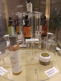 Cannabis salves and marijuana lotion at Euflora in Denver