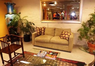 Main reception area of Lodo Wellness Center