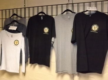 T shirts and clothing at Lodo Wellness center