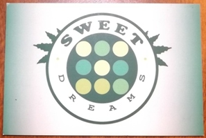 Membership card for Sweet Dreams coffee shop Barcelona
