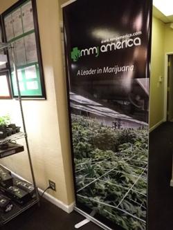 Nice banner at MMJ America Denver