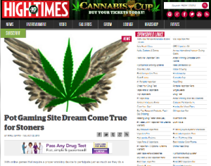 High Times Article Image