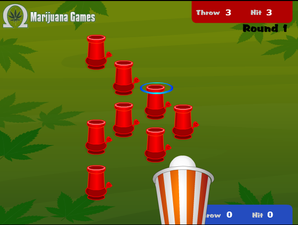 Feature image for Weed Pong marijuana game