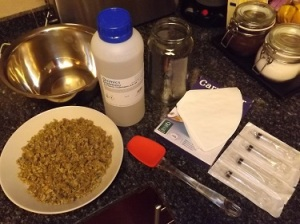 Ingredients to make cannabis oil
