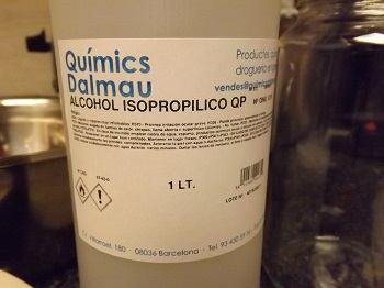 Isopropyl Solvent for making cannabis oil