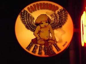 Reefer Coffeeshop Logo