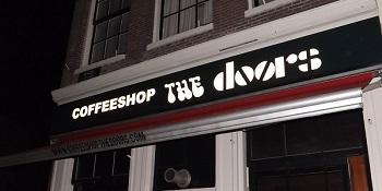The door to The Doors on Singel in AMS