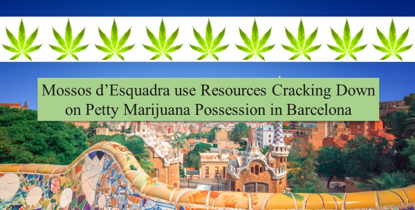 Barcelona Marijuana Users Targeted by Police for Possession