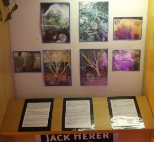 Strain information center at the Cannabis College in Amsterdam Netherlands