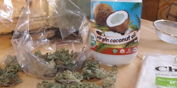 Coconut oil and cannabis