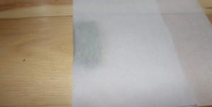 Fold kief into wax paper