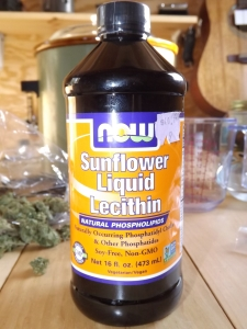 Sunflower Lecithin Closeup