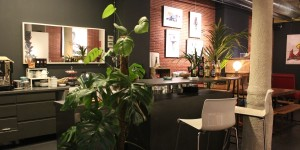 Bar area at Choko social club BCN