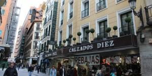 Cool street scene in Madrid