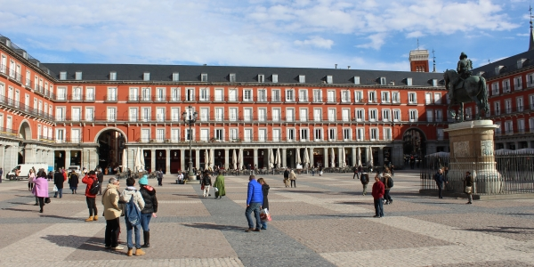 Courtyard quarters in Madrid