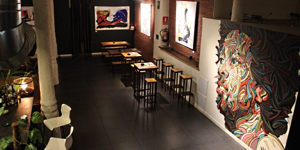 Main Downstairs area of Choko club