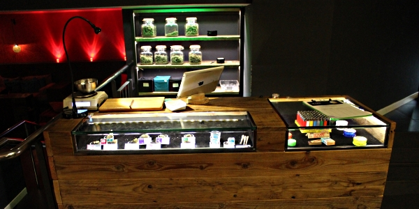 The dispensary at club Choko Barcelona