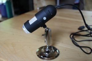 The USB MicroCapture Digital Microscope