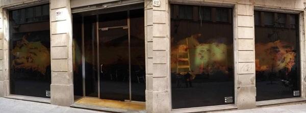 Outside La Mesa Cannabis Club Barcelona